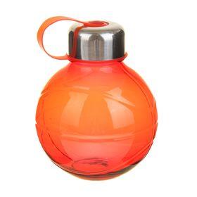 Фляжка-бутылка «Сфера», 600 мл, красная Ош