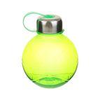 Фляжка-бутылка «Сфера», 600 мл, зелёная