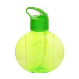 Фляжка-бутылка круглая, 650 мл, зелёная Ош