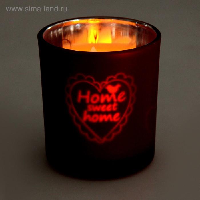 """Подсвечник на 1 свечу """"Home sweet home"""""""