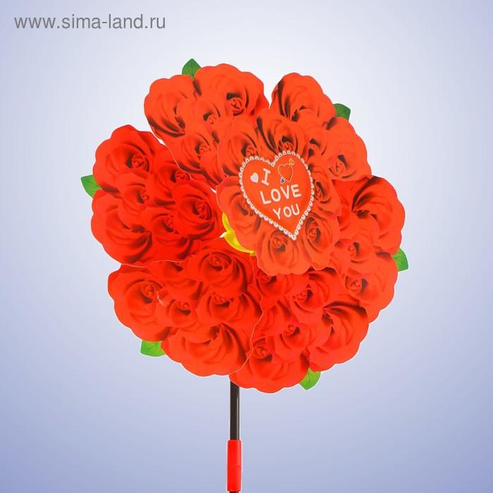 """Ветерок """"Цветы любовь"""", цвета МИКС"""