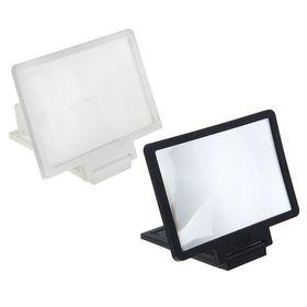 Увеличительное стекло для телефона LuazON, эффект телевизора, микс Ош