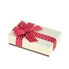 """Коробка подарочная """"Бант в горошек"""", цвет МИКС, 8 х 5 х 2 см"""