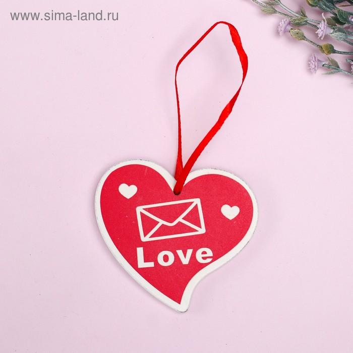 """Подвеска декор """"Сердце. Love"""""""