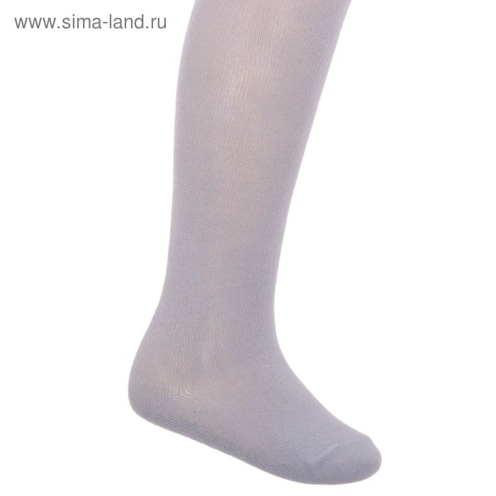 Колготки детские, размер 13, рост 92-98 см, цвет светло-серый