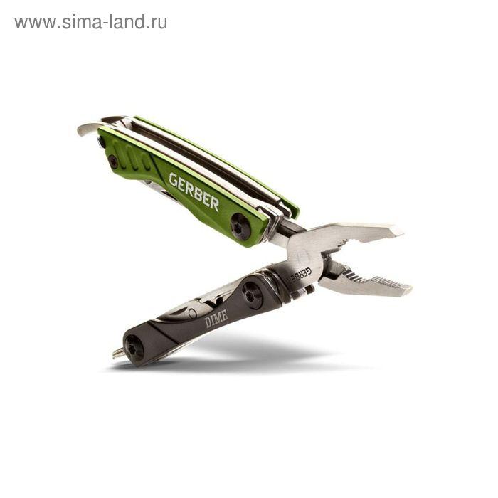 Мультитул Gerber Outdoor Dime Micro Tool, блистер, 31-001132, сталь 3Cr13