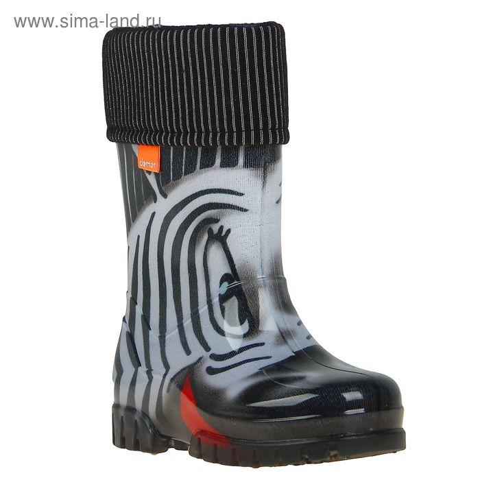 Сапоги резиновые Demar zebra 0039 S (р. 32/33)