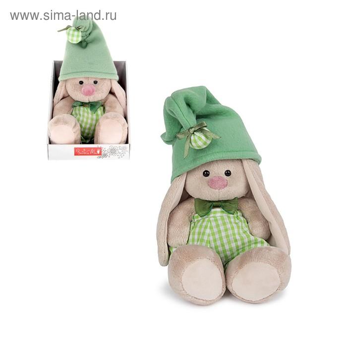 """Мягкая игрушка """"Зайка Ми - гномик в зелёном"""""""