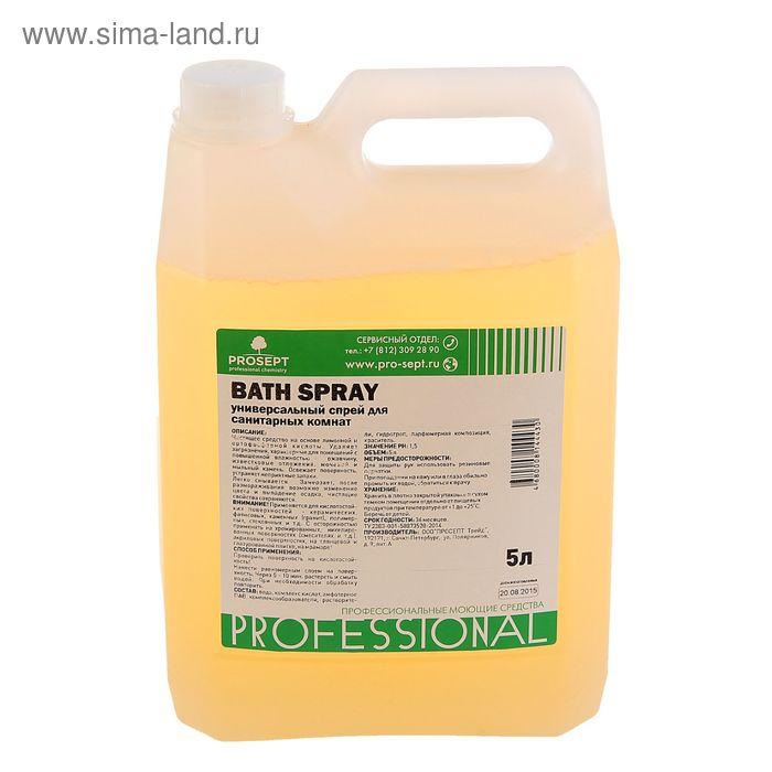 Универсальный спрей для санитарных комнат Bath Spray. Готовое к применению, 5л
