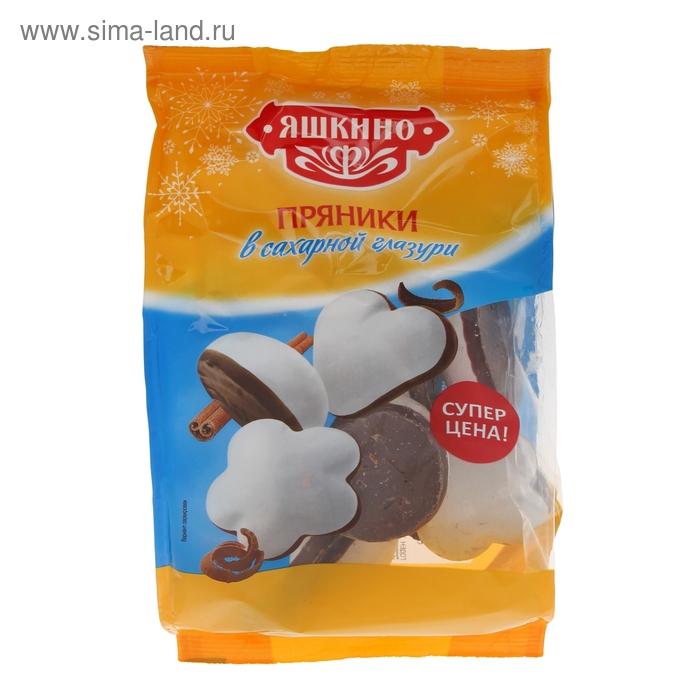 """Пряники """"Яшкино"""", в сахарной глазури, 350 г"""