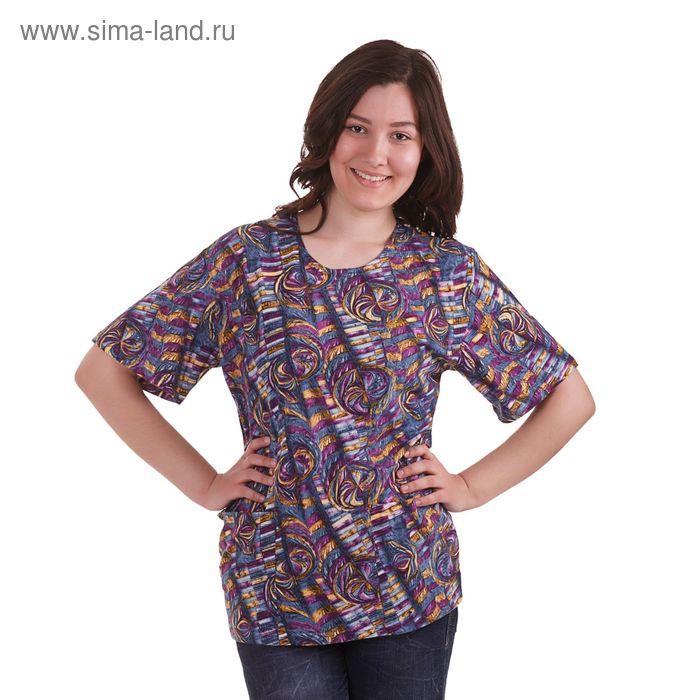 Блузка женская с08-476-009, цвет микс, размер 56 (BXL)