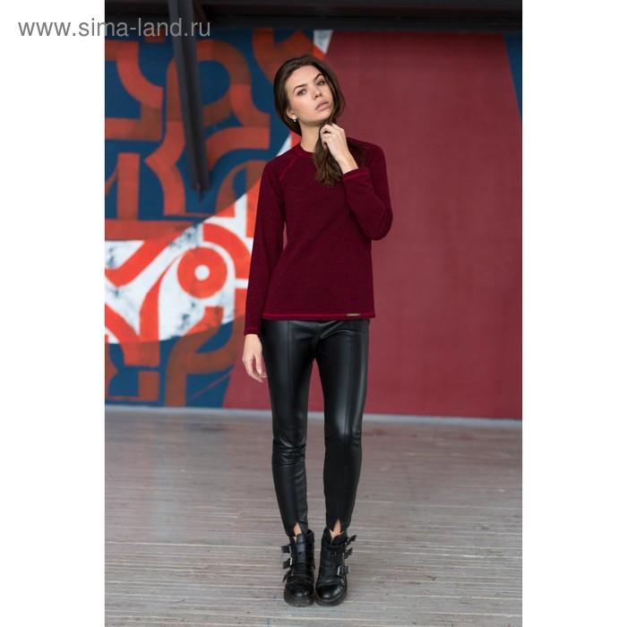 Блузка женская 4399б, размер 44, рост 164 см, цвет бордо