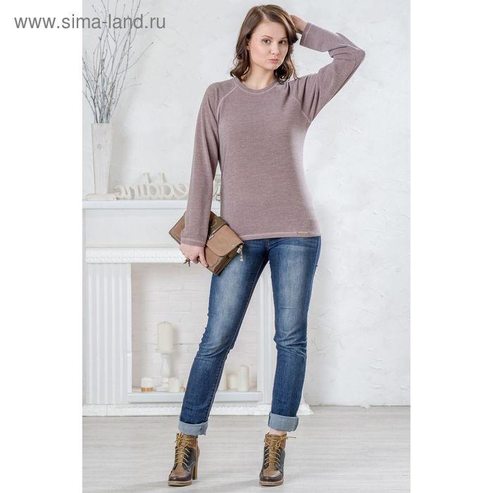 Блузка женская, размер 54, рост 164 см, цвет кремовый (арт. 4399 С+)