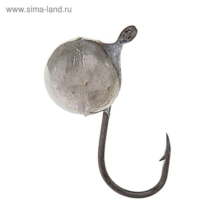 """Мормышка """"Дробинка"""" с ушком Ф5.5 никель"""