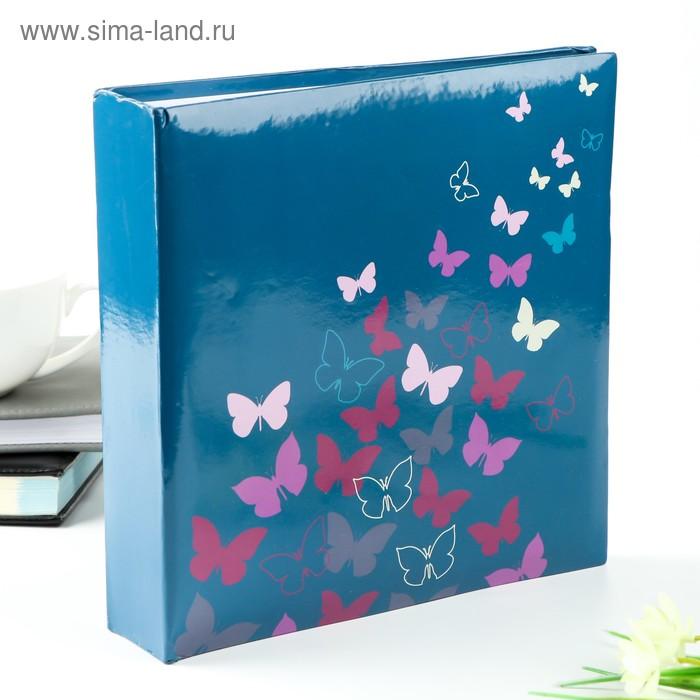 """Фотоальбом на 200 фото 10х15 см """"Бабочки"""" (бумажные листы)"""