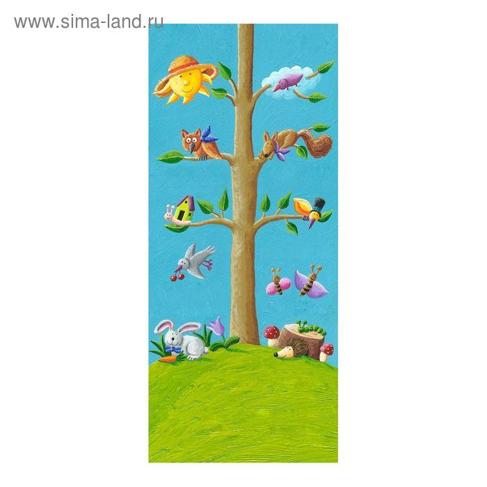 """Фотообои """"Домик на дереве"""" D-004, 95х220 см"""