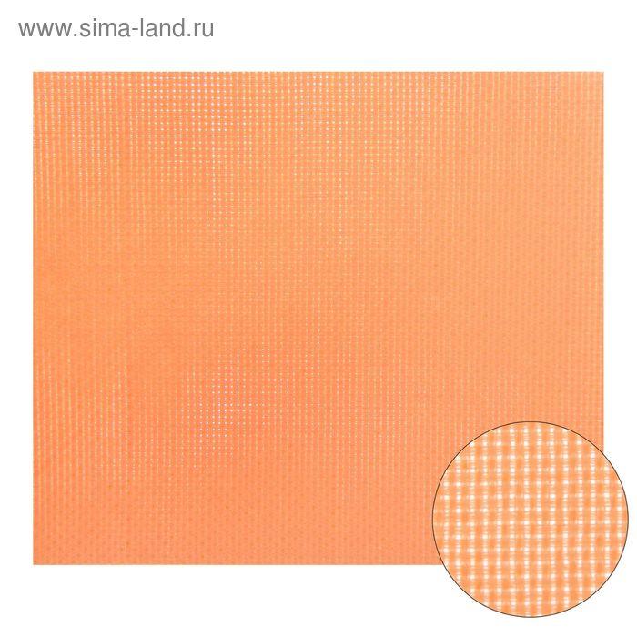 Канва для вышивания Aida №14, 30х40см, цвет персиковый