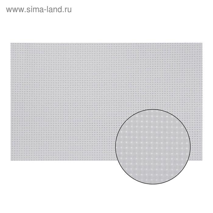 Канва для вышивания №11, 60х40см, цвет белый