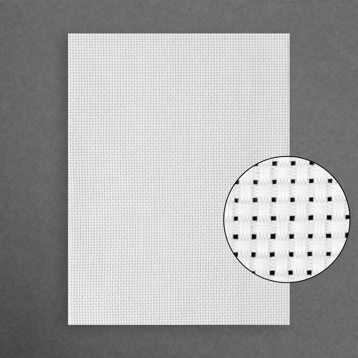 Канва для вышивания №11, 50х50см, цвет белый