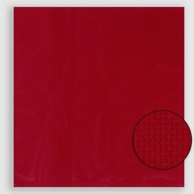 Канва для вышивания №11, 50х50см, цвет красный