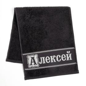 "Полотенце махровое Collorista ""Алексей"" 30х70 см 100% хлопок, 370гр/м2"