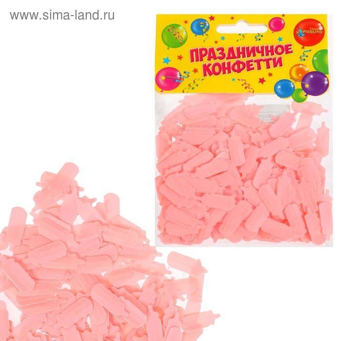 """Конфетти """"Соска"""" 14 грамм , цвет розовый"""