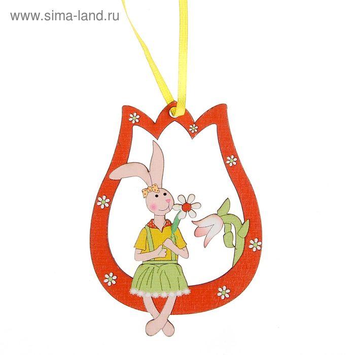 """Подвеска декор """"Праздничный кролик"""""""