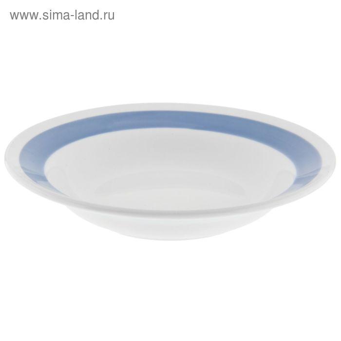 """Тарелка глубокая 250 мл d=20 см h=4 см """"Соли синие"""""""