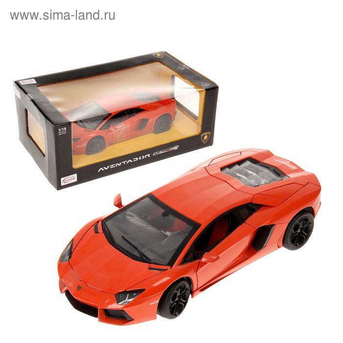 Металлическая машинка Lamborghini Aventador LP700, МИКС