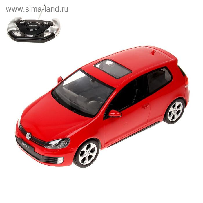 """Радиоуправляемая машинка """"Volkswagen Golf GTI"""", МИКС"""