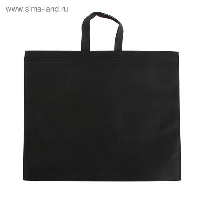 Пакет с петлевой ручкой, чёрный