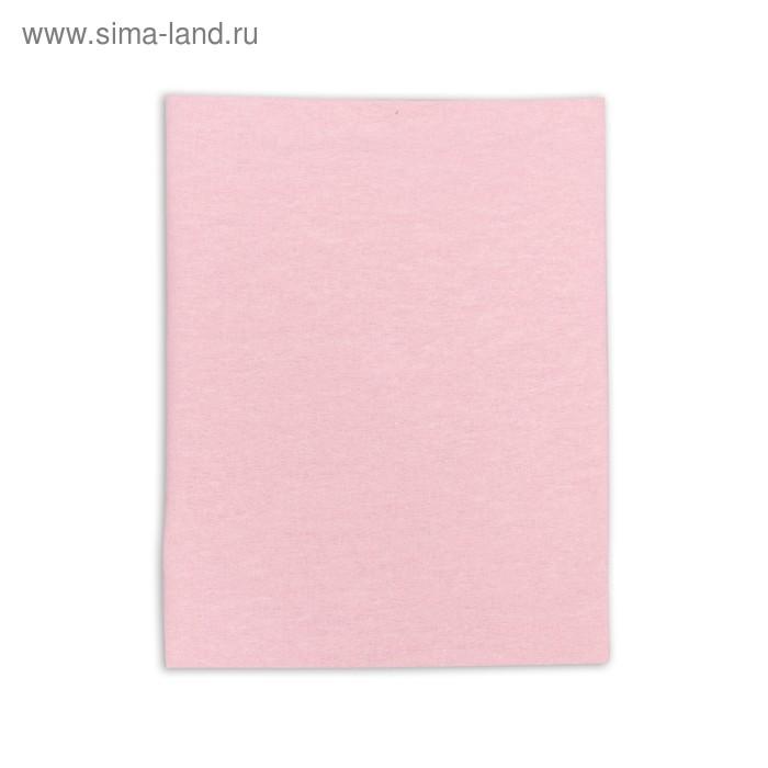 Пеленка детская фланелевая. размер 90*120 см, цвет розовый 1244-С