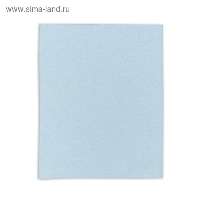 Пеленка детская фланелевая. размер 90*120 см, цвет голубой 1244-С