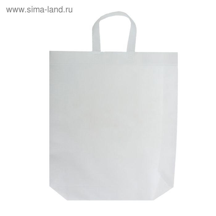 Пакет с петлевой ручкой, белый