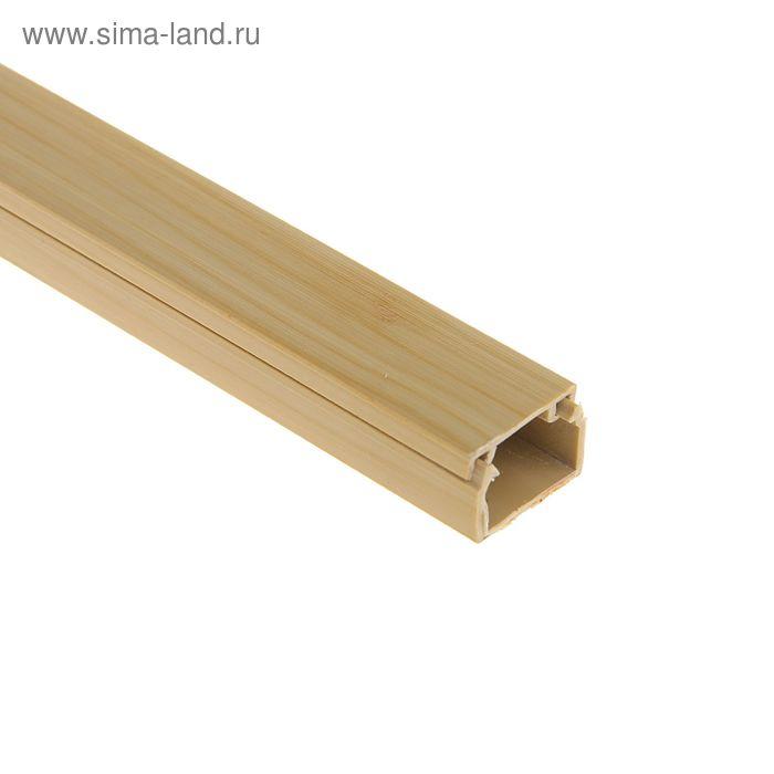 Кабель-канал, 15 х 10 мм, длина 2 м, цвет сосны