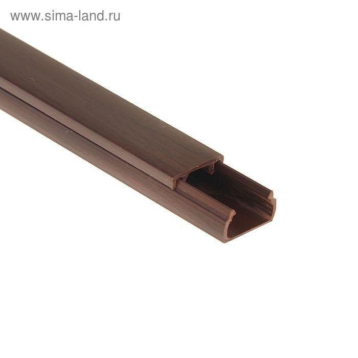 Кабель-канал, 15х10 мм , длина 2 м, цвет венге