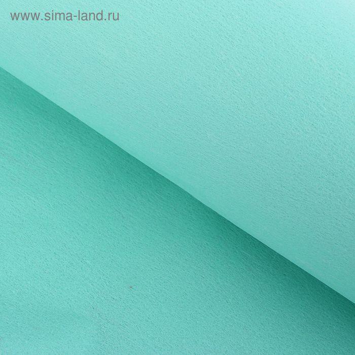 Фетр однотонный светло-зеленый 50 х 50 см, набор 42 штуки