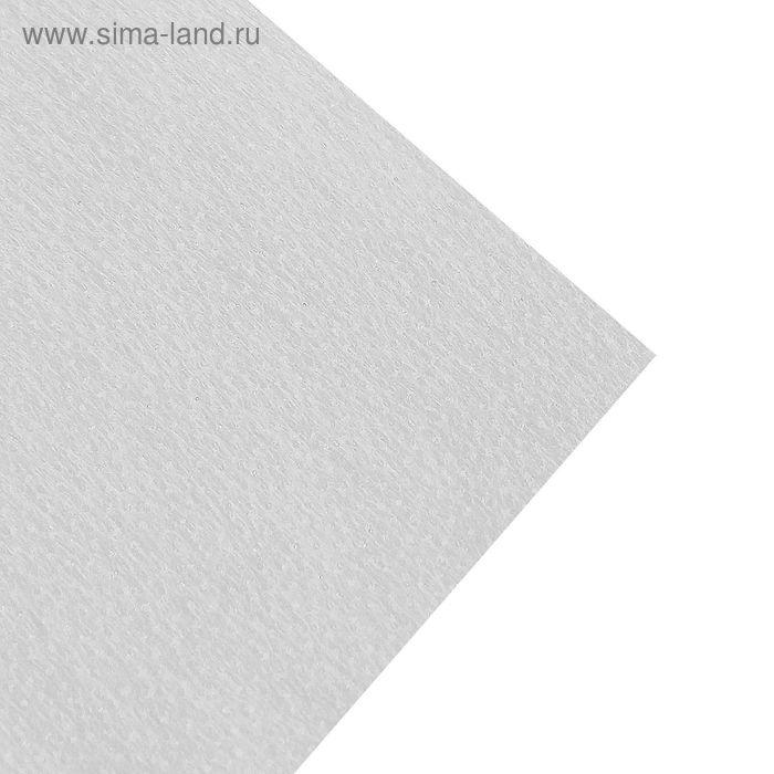 Флизелин клеевой точечный, 37±2г/кв.м, 100х100см, цвет белый