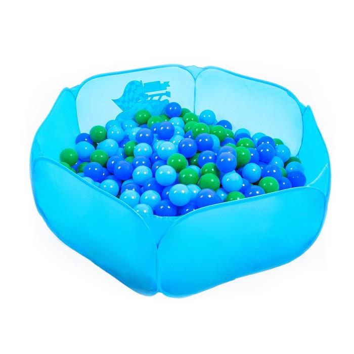 """Шарики для сухого бассейна """"Морские"""" с рисунком, диаметр шара 7,5 см, набор 30 шт."""