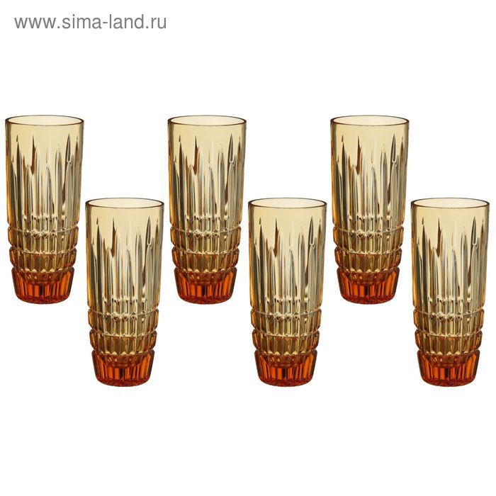 "Набор стаканов 250 мл ""Медовый спас"", 6 шт"