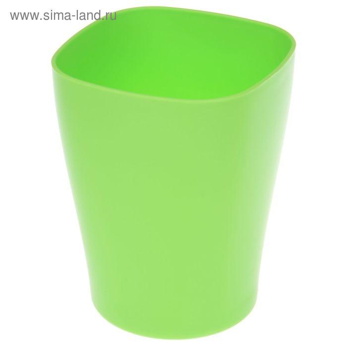 """Кашпо 2 л """"Ирис"""", цвет зеленый"""