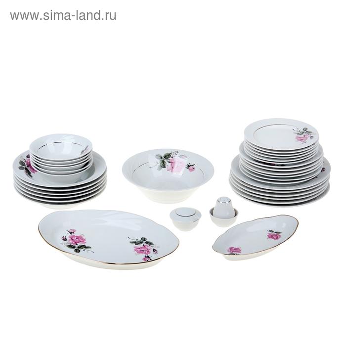 """Сервиз столовый """"Глория"""": 36 предметов, 4 вида тарелок"""