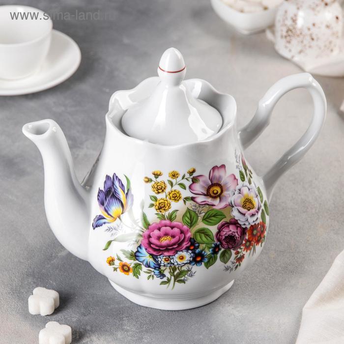 """Чайник 1,75 л """"Букет цветов"""""""