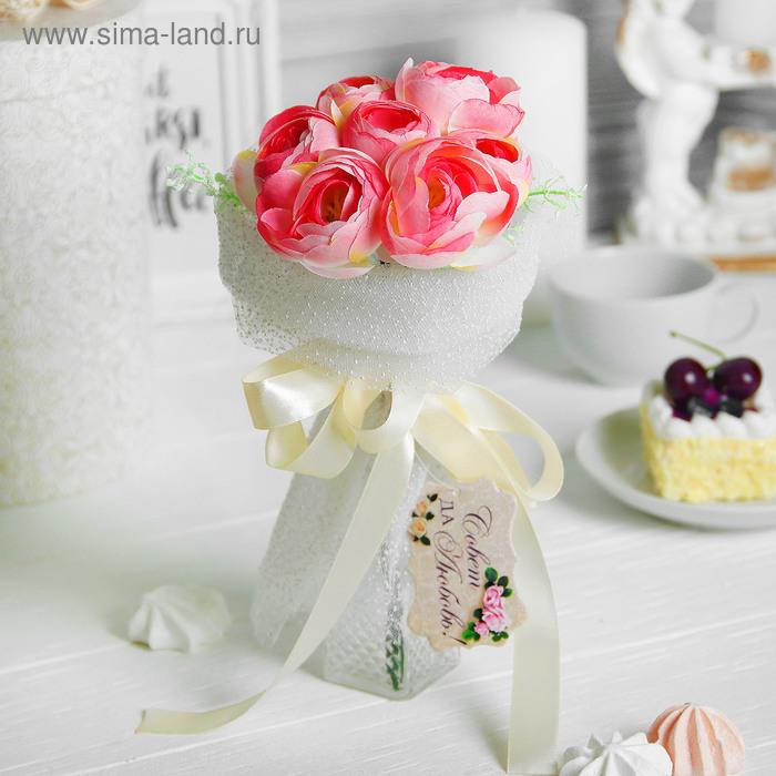"""Букет-дублер """"Романтик"""" чайные розы"""