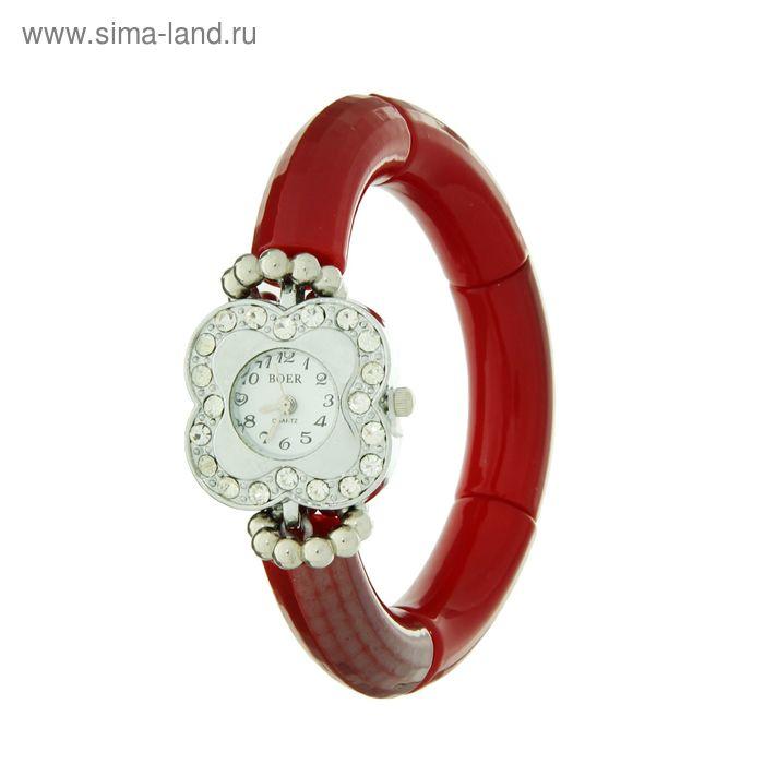 Женские часы- браслет (гладкие) микс  (розовый, бирюзовый, коричневый, красный)