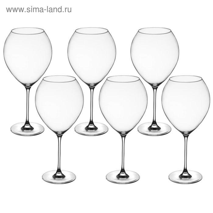 Набор бокалов для вина 910 мл Flamingo, 6 шт