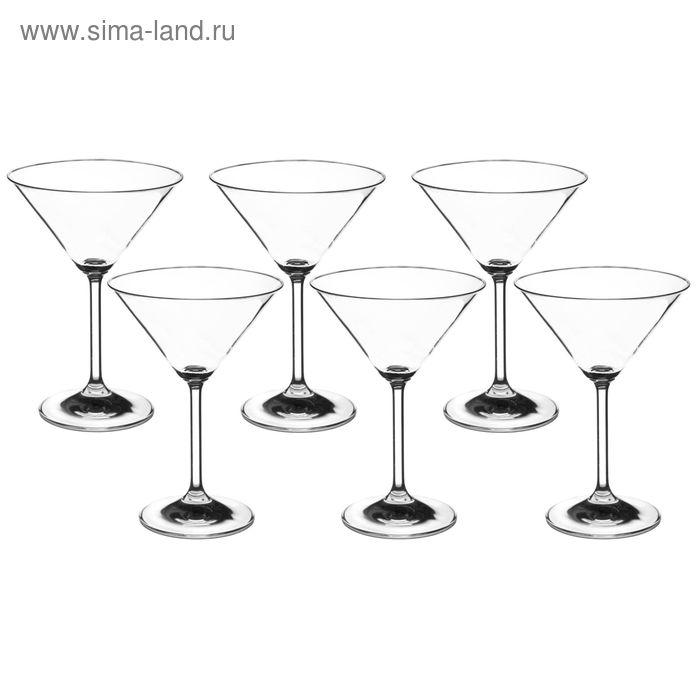 """Набор бокалов для мартини 180 мл """"Гала"""", 6 шт"""