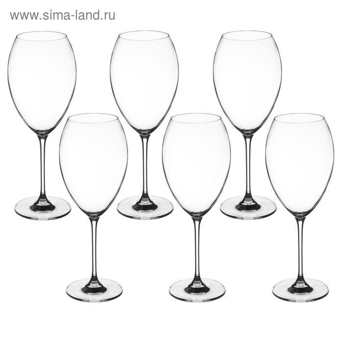 Набор бокалов для вина 550 мл Flamingo, 6 шт