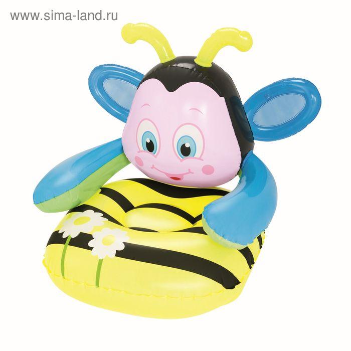 """Надувное детское кресло 79х89х79 см, от 3-х лет """"Пчёлка"""" (75062)"""