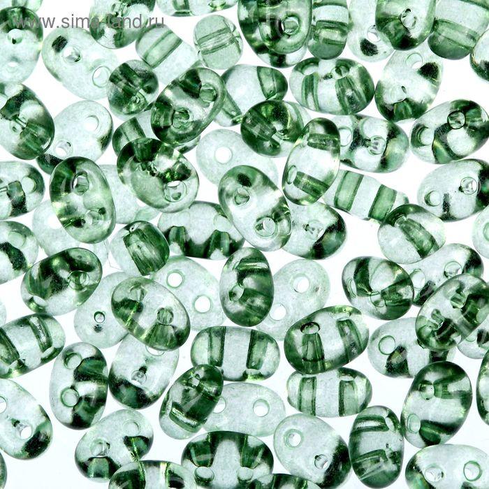 "Бисер ""GAMMA"" 2,5х5мм (Т048 т. зеленый)"